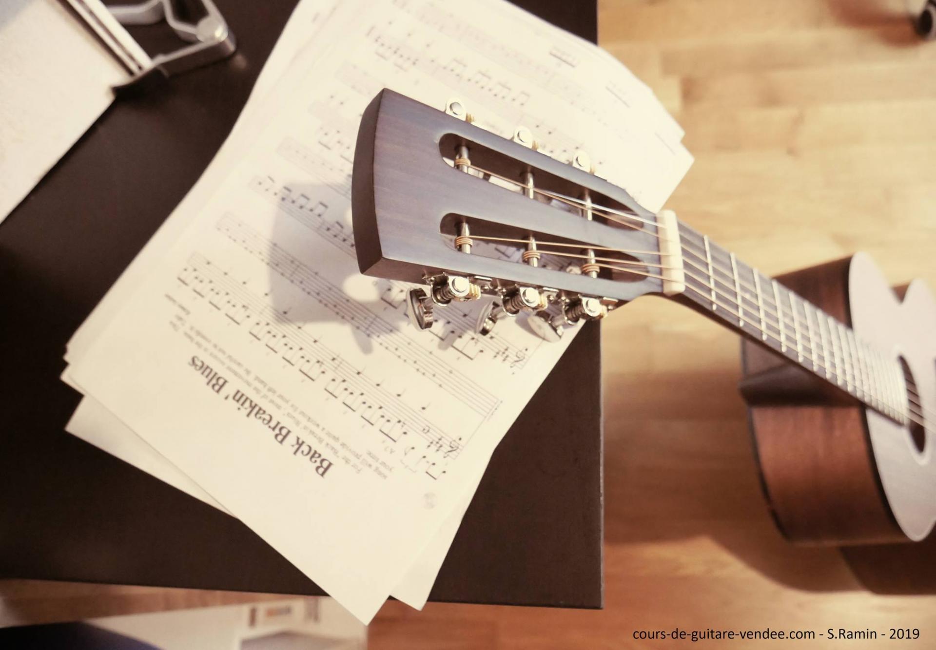 Cours de Guitare en Vendée