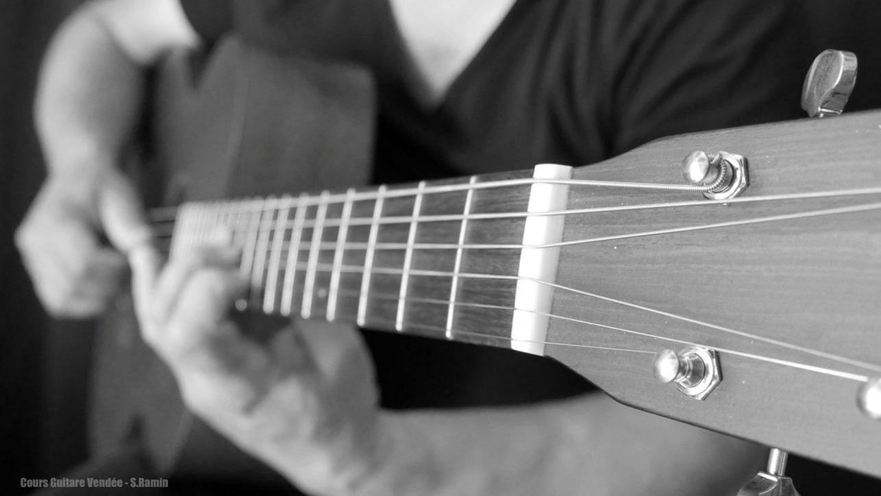 professeur de guitare vendée
